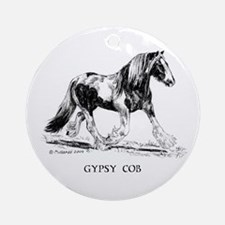Gypsy Horse Ornament (Round)