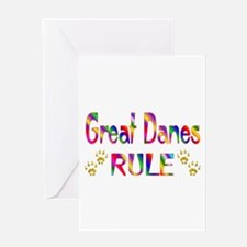 Great Dane Greeting Card