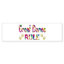 Great Dane Bumper Sticker (50 pk)