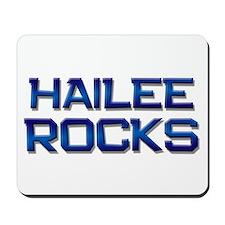 hailee rocks Mousepad