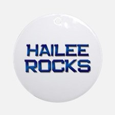 hailee rocks Ornament (Round)