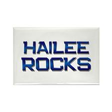 hailee rocks Rectangle Magnet