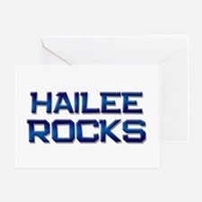 hailee rocks Greeting Card