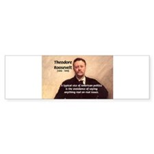 Theodore Roosevelt Bumper Car Sticker