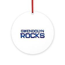 gwendolyn rocks Ornament (Round)