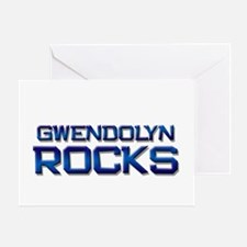 gwendolyn rocks Greeting Card