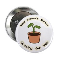 "Growing For You 2.25"" Button (100 pack)"
