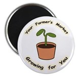 "Growing For You 2.25"" Magnet (10 pack)"