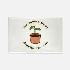 Growing For You Rectangle Magnet