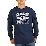 Kayaking Mom Long Sleeve Dark T-Shirt