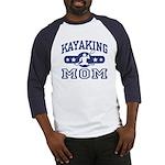Kayaking Mom Baseball Jersey