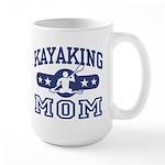 Kayaking Mom Large Mug