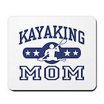Kayaking Mom Mousepad
