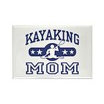 Kayaking Mom Rectangle Magnet