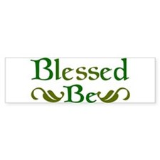 Blessed Be Bumper Car Sticker