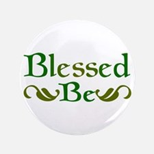 """Blessed Be 3.5"""" Button"""