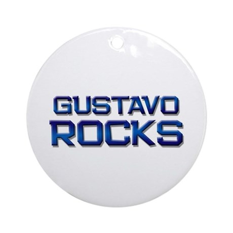 gustavo rocks Ornament (Round)