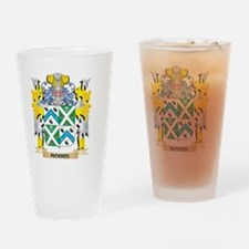 Morris Coat of Arms - Family Crest Drinking Glass