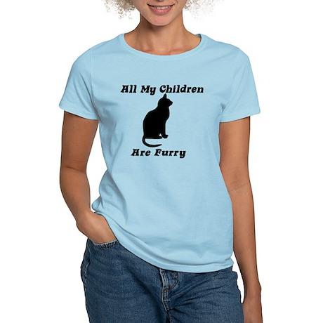 All my Children are Furry Women's Light T-Shirt