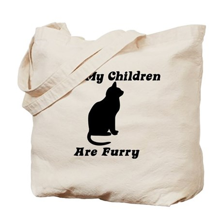 All my Children are Furry Tote Bag
