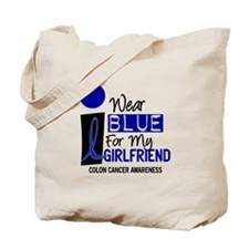 I Wear Blue For My Girlfriend 9 CC Tote Bag