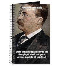 President Theodore Roosevelt Journal