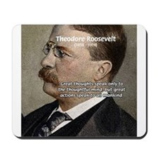 President Theodore Roosevelt Mousepad