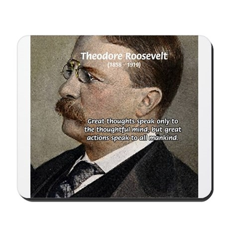 an understanding of theodore roosevelts philosophy T roosevelt magnetic personality rough rider, author, conservationist,  president,  teddy roosevelt puppet none on sep 17, 0011 i gave this puppet  to my.