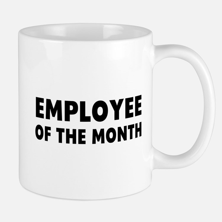 Gifts for employee of the month unique employee of the for Mug handle ideas