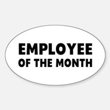 Employee Month Decal