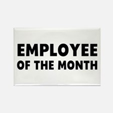 Employee Month Rectangle Magnet