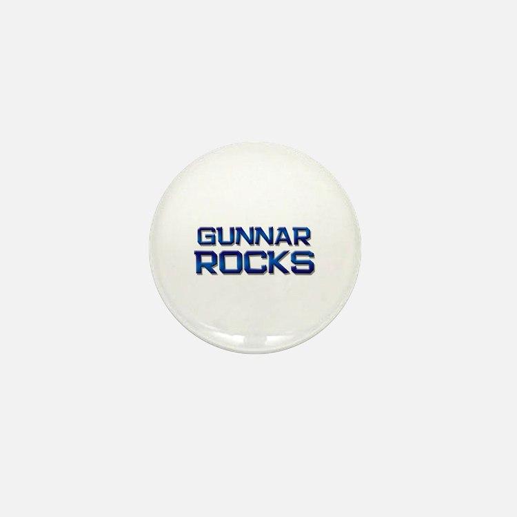 gunnar rocks Mini Button