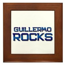guillermo rocks Framed Tile