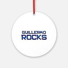 guillermo rocks Ornament (Round)