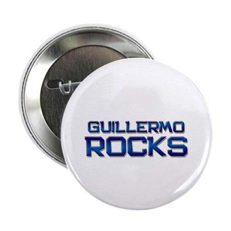 "guillermo rocks 2.25"" Button (10 pack)"