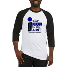 I Wear Blue For My Aunt 9 CC Baseball Jersey