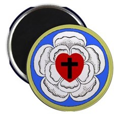 "Luther Rose 2.25"" Magnet (10 pack)"