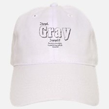 Gray Hair Baseball Baseball Cap