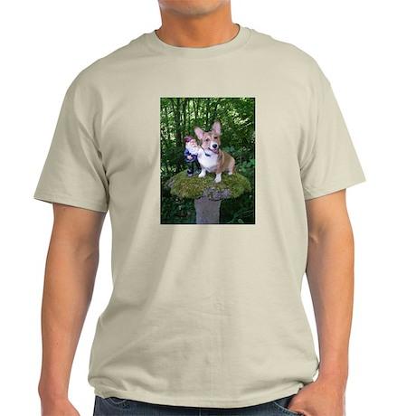 The Enchanted Corgi Light T-Shirt