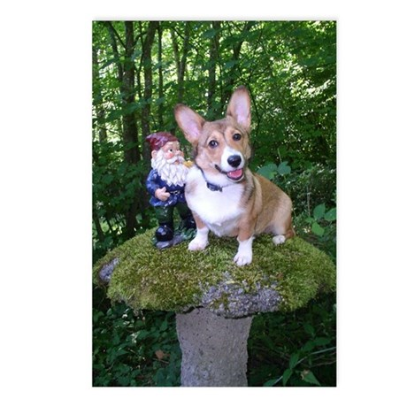 The Enchanted Corgi Postcards (Package of 8)