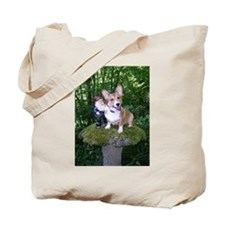 The Enchanted Corgi Tote Bag