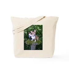 The Enchanted Corgi Tote Bag