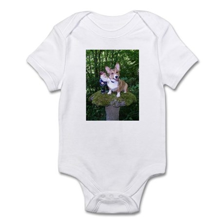 The Enchanted Corgi Infant Bodysuit