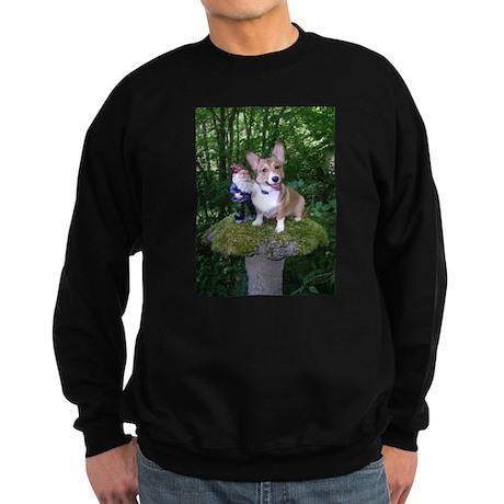 The Enchanted Corgi Sweatshirt (dark)