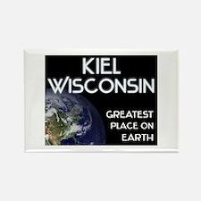 kiel wisconsin - greatest place on earth Rectangle