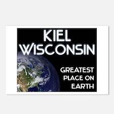 kiel wisconsin - greatest place on earth Postcards