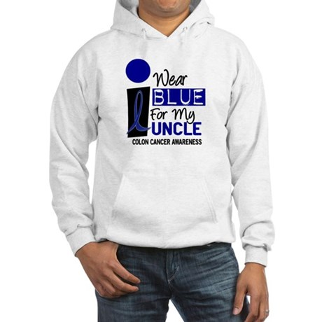 I Wear Blue For My Uncle 9 CC Hooded Sweatshirt