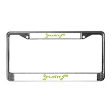 Purity Water Weeds License Plate Frame
