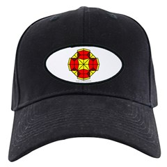 Red Owls Amulet Baseball Hat