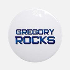 gregory rocks Ornament (Round)